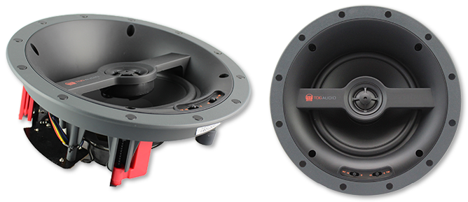 "TDG Audio NFC-61A Angled 6.5"" Poly In-Ceiling Speaker"