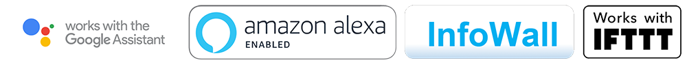 Amazon Alexa and Google Assistant voice control