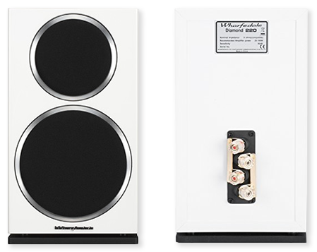 Wharfedale Diamond 220 Bookshelf Speakers Pair