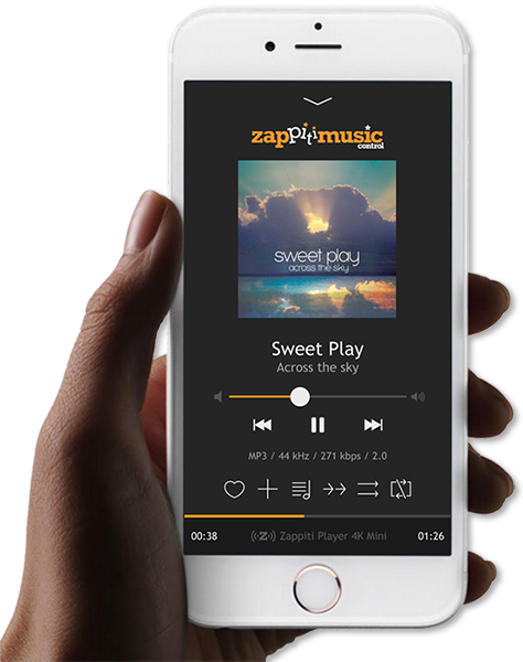 Zappiti smartphone media player