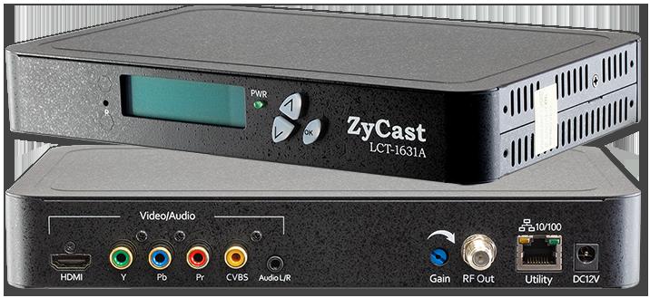 ZyCast LCT-1631A Single Input MPEG-2 HD Modulator with HDMI