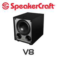 SpeakerCraft V8 80W Subwoofer