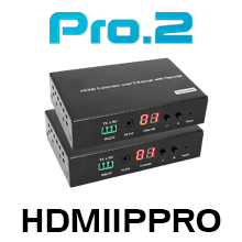 Pro 2 HDMIIPPRO HDMI Over IP CAT6 Extender With PoE