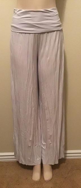 Yoga Top Wide Leg Pleated Pants