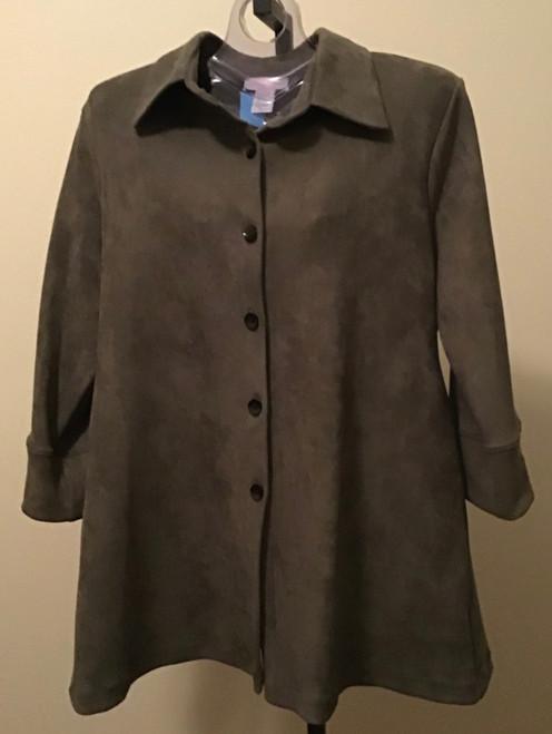 Olive Ultrasuede® Jacket