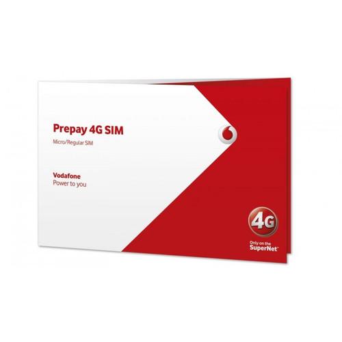 Vodafone Prepay 4G Sim Card