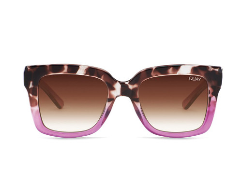 Quay Icy Tort Sunglasses