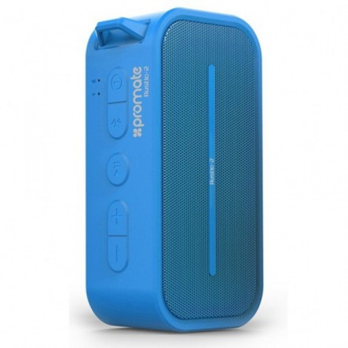 Promate Rustic-2 Portable IPX5 Water Resistant Wireless Speaker