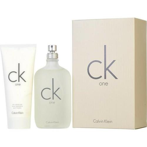 Calvin Klein 2pc CK One 200ml EDT + 200ml Moisturizer (2021) (M)