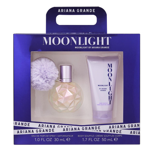 Ariana Grande 2pc Moonlight 30ml EDP + 50ml B/Souffle (2021) (W)