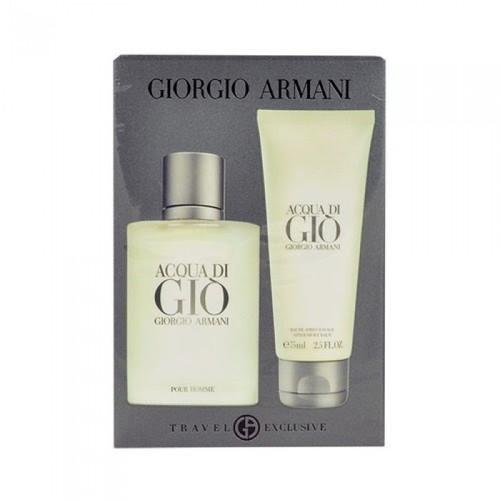 Giorgio Armani 2pc Acqua di Gio 50ml EDT + 75ml AS Balm (2021) (M)