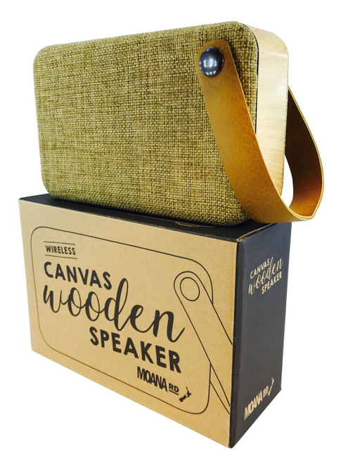 Moana Road Canvas Speaker