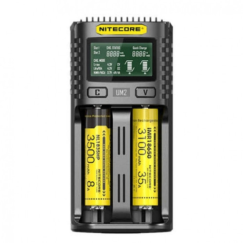 Nitecore UM2 Intelligent USB Dual Slot Charger