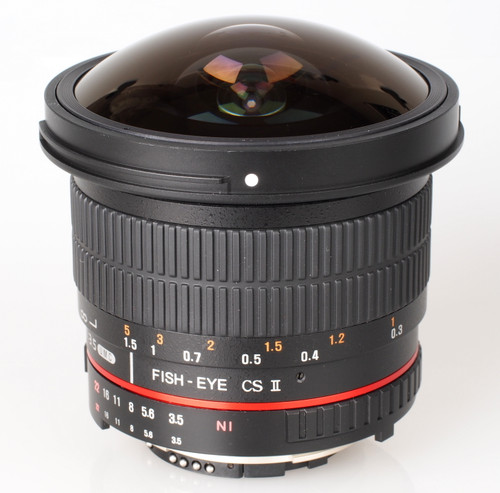 Samyang Fish Eye F3.5 8mm CS II Lens