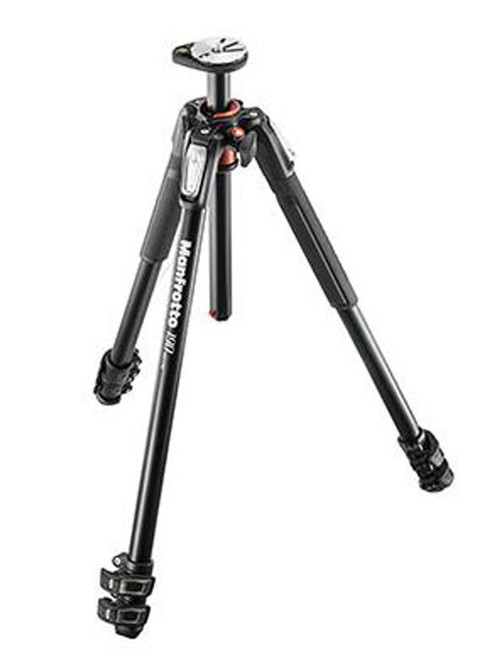 Manfrotto 190 ALU Tripod 3-S & Head