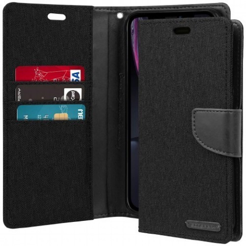 Canvas Diary iPhone 12 Pro Max Wallet Case