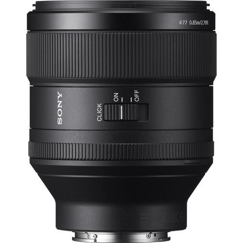 Sony SEL85F14GM FE 85mm F1.4 GM