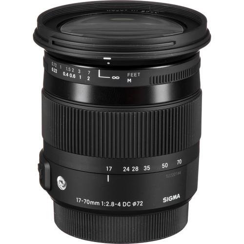 Sigma 17-70mm F2.8-4 DC OS HSM l C (Canon)
