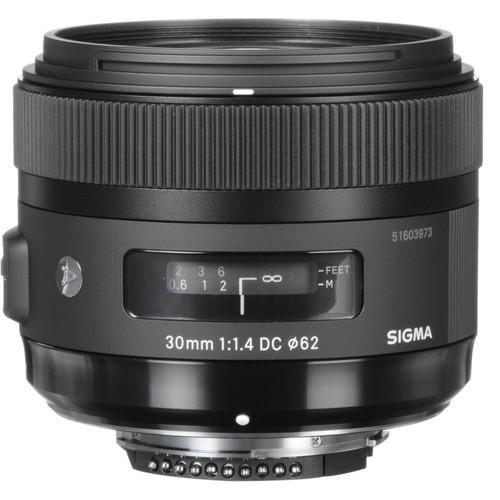 Sigma 30mm F1.4 DC HSM | A