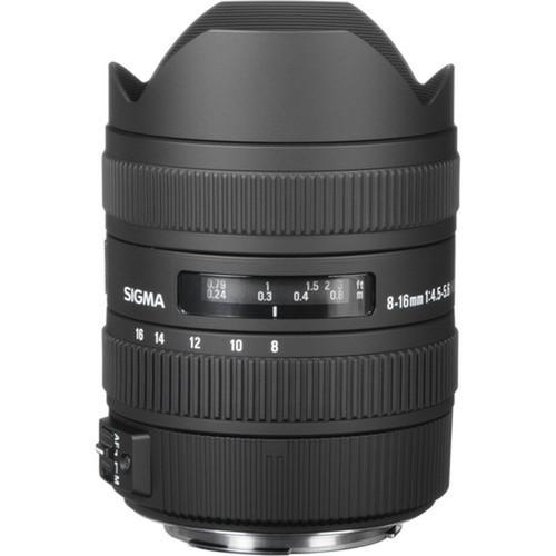 Sigma 8-16mm F/4.5-5.6 DC HSM