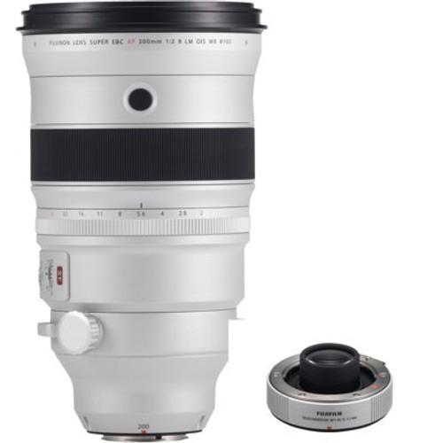 Fujifilm XF200mmF2 R LM OIS WR w/ XF1.4X TC F2 WR