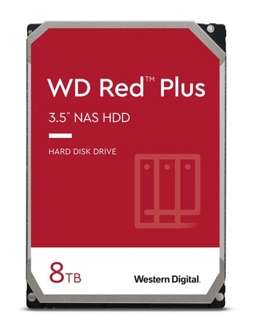 Wd Red Plus 8TB Sata3 256Mb Cache For Nas