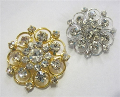Vintage Affects Lace 30mm Gold or Silver