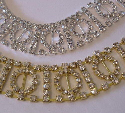 Circle Teeny Chain 23mm gold silver
