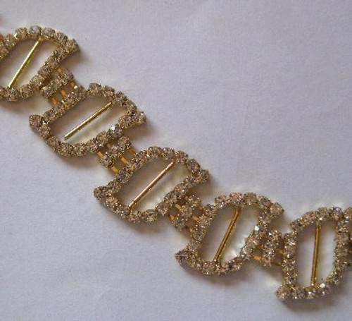 Leaf Gold Chain 20mm x 10cm