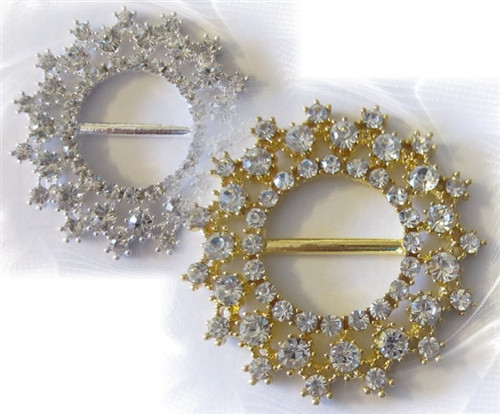 Bobble Rings Gold 54mm x 1