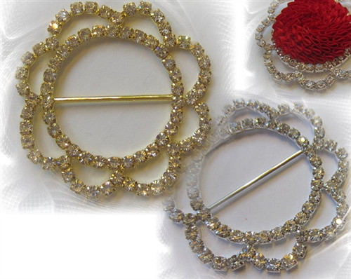Encircle Rings 50mm gold or silver