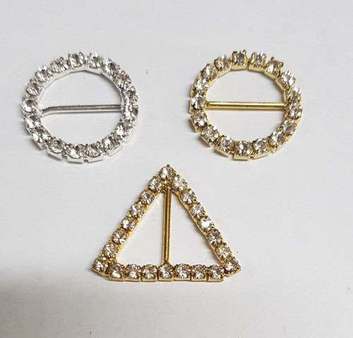 Teeny 20mm Rings - Circles or Triangles