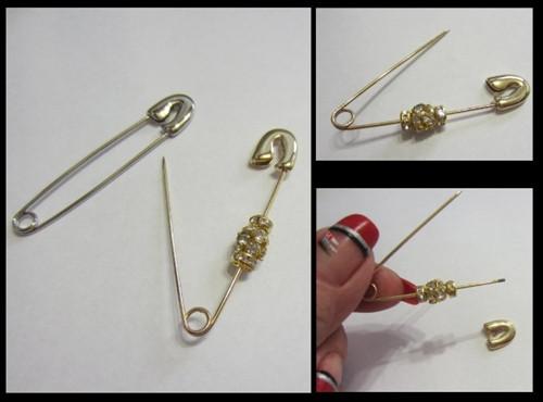 DIY Pins ( Removable Head ) x 1