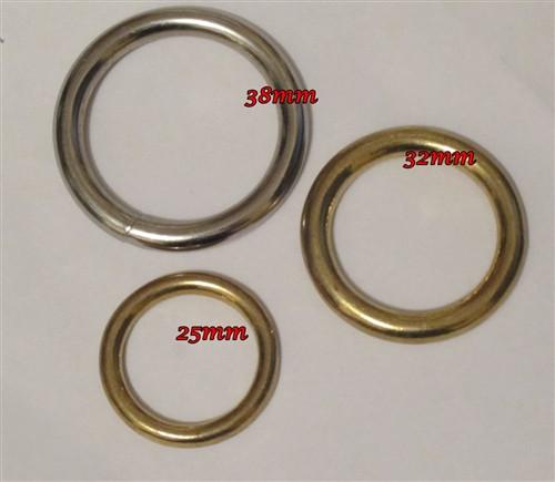 Solid Metal Rings
