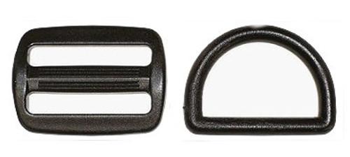 Plastic Slider or D Ring for Rugs 25mm