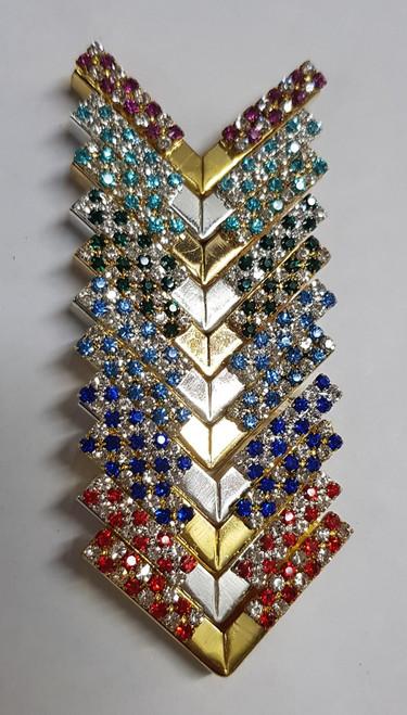 Diamante Alternate Coloured Tips