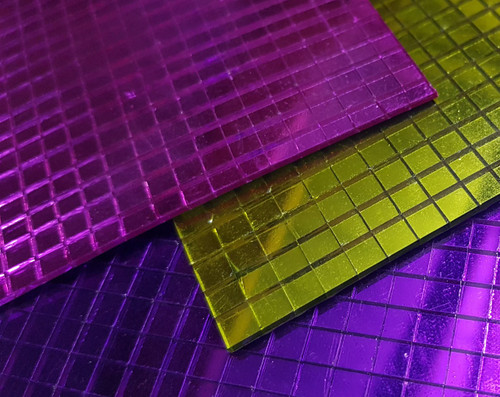 Coloured 5mm Square Mirrors