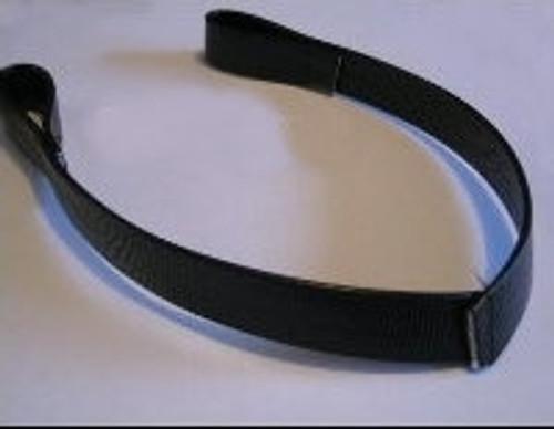 V Shaped Black Dressage Browband