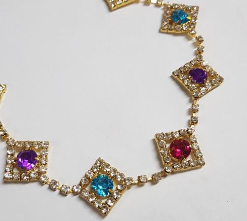 Diamond Chain Kaleidoscope
