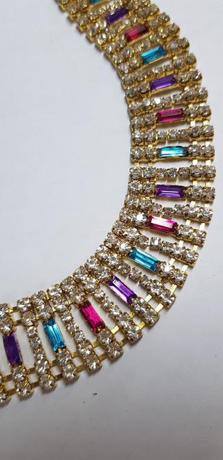Baguette Chain Kaleidoscope