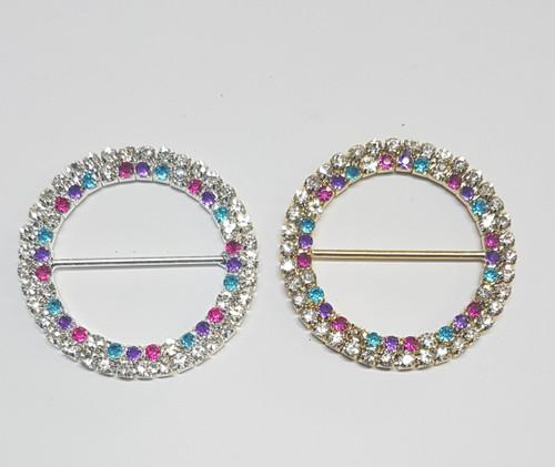 2 Row Ring Kaleidoscope 50mm