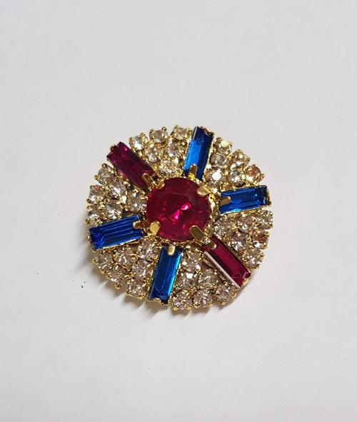 Baguette Centerpieces Royal & Hot Pink Gold 27mm