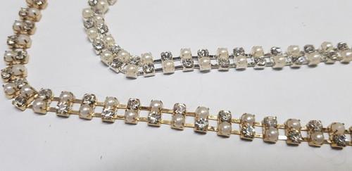 2 Row Chain Pearl Alternate