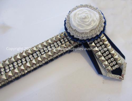 Royal, White & Silver Vintage
