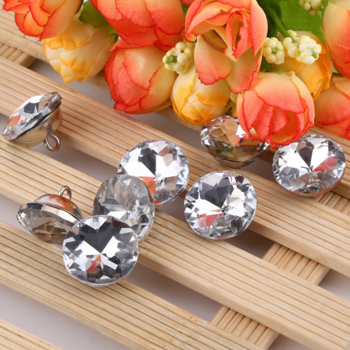 20mm Silver Solid Centres