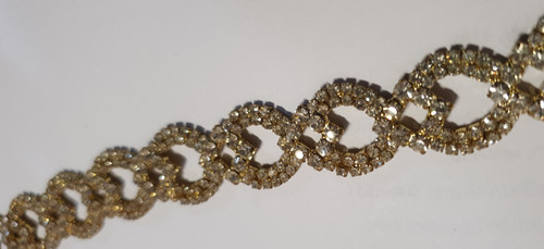 Oval Link Gold 20mm x 10cm