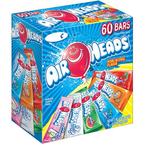 Airheads Assorted 60 Count