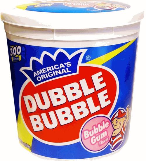 Dubble Bubble Original Tub 300 Count