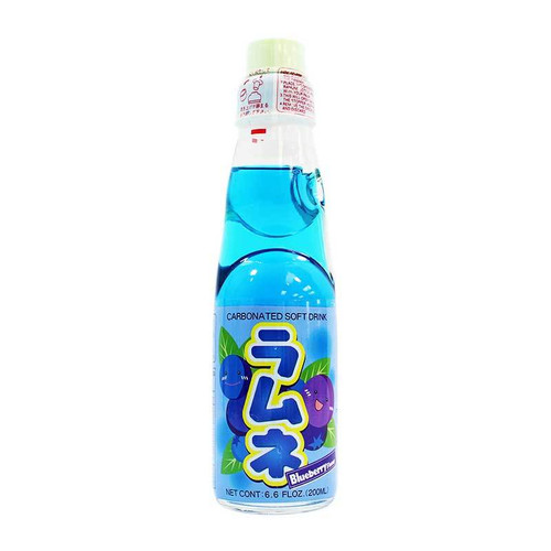 Ramune Soda Blueberry 6.76 Ounce 30 Count