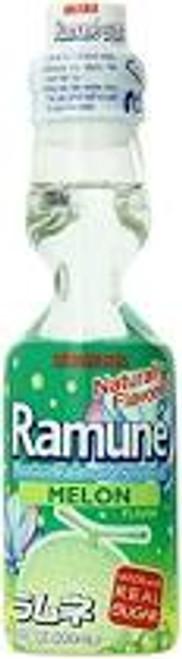 Ramune Soda Melon 6.76 Ounce 30 Count